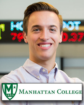 Daniel Festa signs with Manhattan College for 2014.